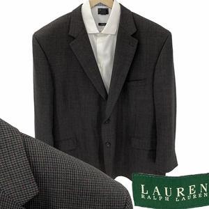 Lauren Ralph Lauren Houndstooth Sports Coat 52R